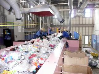 プラスチック製容器包装の選別